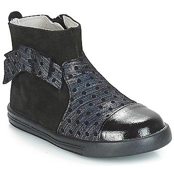 Sapatos Rapariga Botas baixas André NUIT Preto