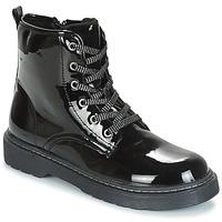 Sapatos Rapariga Botas baixas André ROCKABILLY Preto