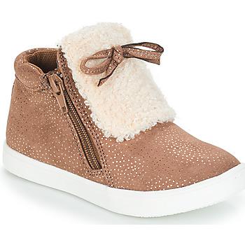 Sapatos Rapariga Botas baixas André MOUFLON Bege
