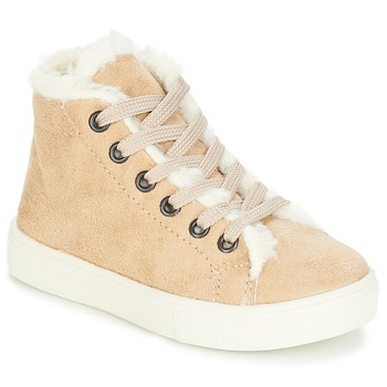 Sapatos Rapariga Sapatilhas de cano-alto André TRICOT Bege