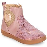 Sapatos Rapariga Botas baixas André MAUVE Rosa