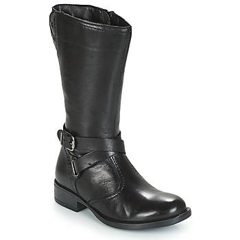 Sapatos Rapariga Botas André HIVER Preto