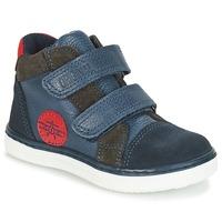 Sapatos Rapaz Sapatilhas de cano-alto André JET Azul
