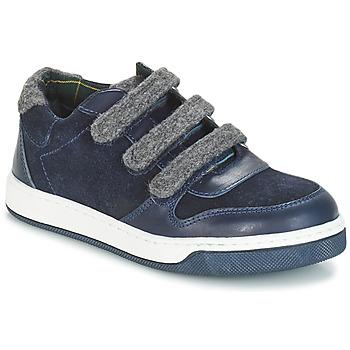 Sapatos Rapaz Sapatos André CARREAU Marinho