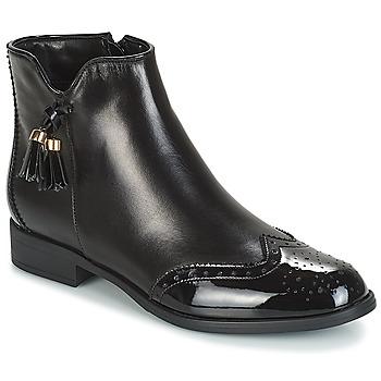 Sapatos Mulher Botas baixas André ALINA Preto