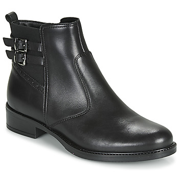 Sapatos Mulher Botas baixas André CARLIN Preto
