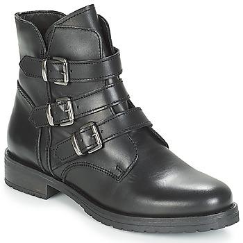 Sapatos Mulher Botas baixas André TONYA Preto