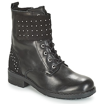 Sapatos Mulher Botas baixas André TAMAR Preto