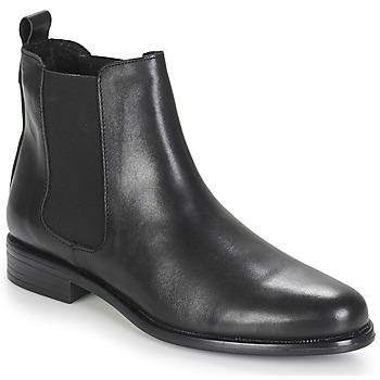 Sapatos Mulher Botas baixas André CARAMEL Preto