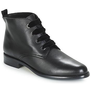 Sapatos Mulher Botas baixas André THAO Preto