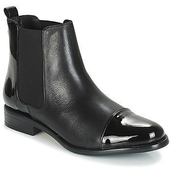 Sapatos Mulher Botas baixas André JAMIKO Preto