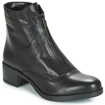 Sapatos Mulher Botins André TAX Preto