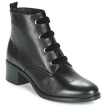 Sapatos Mulher Botas baixas André THARA Preto