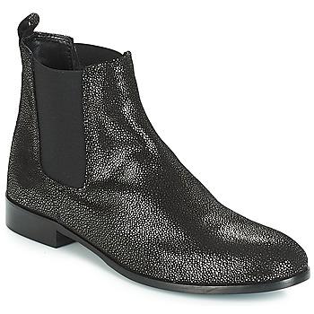 Sapatos Mulher Botas baixas André AGRIA Preto