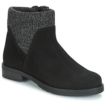 Sapatos Mulher Botas baixas André TRIAL Preto