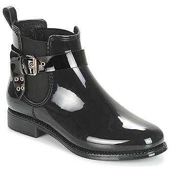 Sapatos Mulher Botas de borracha André THAMES Preto