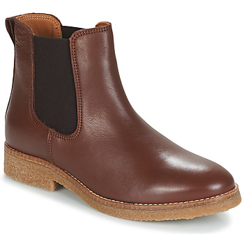 Sapatos Mulher Botas baixas André THELA Castanho