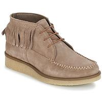 Sapatos Mulher Botas baixas André TANVI Bege