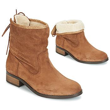 Sapatos Mulher Botas baixas André TELEX Castanho