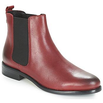 Sapatos Mulher Botas baixas André CARAMEL Vermelho