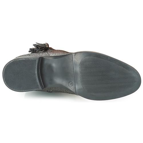 André ALINA Bronze / Preto - Entrega gratuita- Sapatos Botas baixas Mulher 72