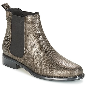 Sapatos Mulher Botas baixas André CARAMEL Bronze