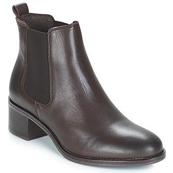 Sapatos Mulher Botins André CRUMBLE Castanho