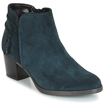 Sapatos Mulher Botins André MISTINGUETTE Azul