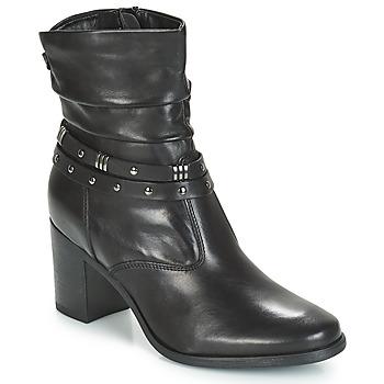 Sapatos Mulher Botas baixas André TOCSIN Preto