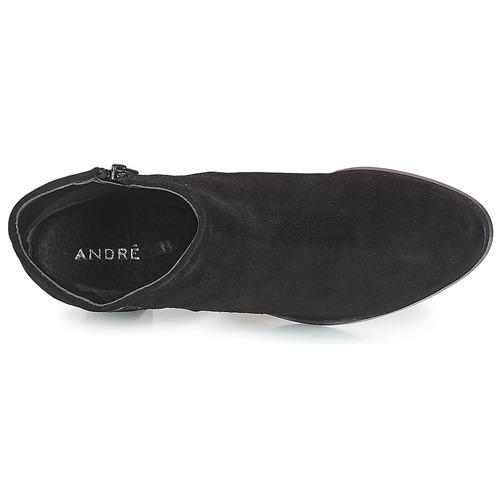 André TERRA Preto - Entrega gratuita- Sapatos Botins Mulher 64