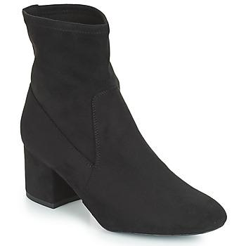 Sapatos Mulher Botas baixas André FAROUCHE Preto