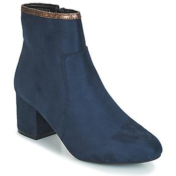 Sapatos Mulher Botas baixas André FALOU Azul