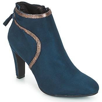 Sapatos Mulher Botins André AUREL Azul