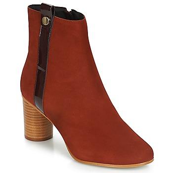 Sapatos Mulher Botins André FILO Vermelho