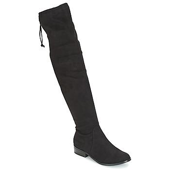 Sapatos Mulher Botas altas André MARGOT Preto