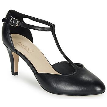 Sapatos Mulher Escarpim André FALBALA Preto