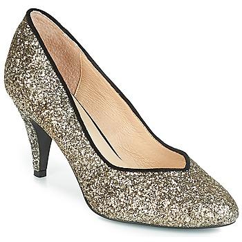 Sapatos Mulher Escarpim André ANGELIE Ouro