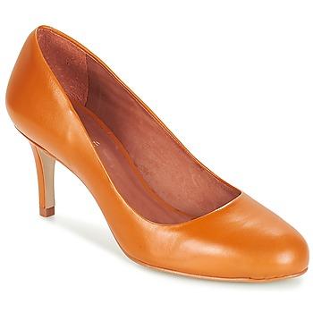 Sapatos Mulher Escarpim André FLAVIE Castanho / Laranja