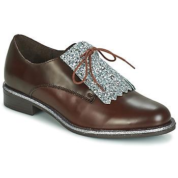 Sapatos Mulher Sapatos André FATOU Castanho