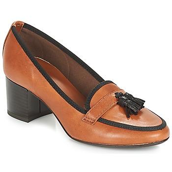 Sapatos Mulher Escarpim André TEMPLA Castanho