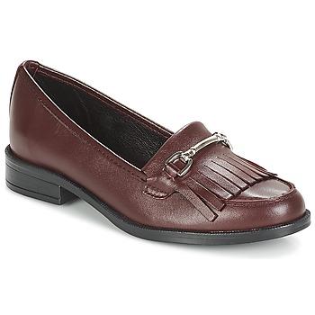 Sapatos Mulher Mocassins André TYRI Bordô