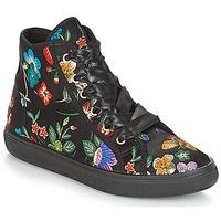 Sapatos Mulher Sapatilhas de cano-alto André TONY Multicolor