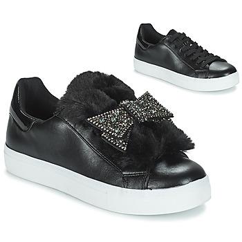 Sapatos Mulher Sapatilhas André TELAMONE Preto