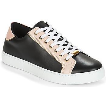Sapatos Mulher Sapatilhas André BERKELITA Preto / Bege