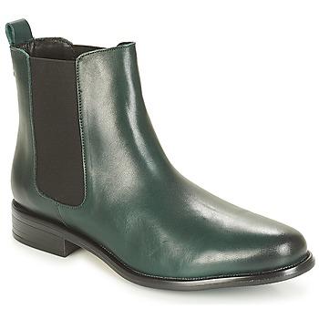 Sapatos Mulher Botas baixas André CARAMEL Verde