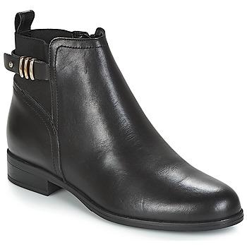 Sapatos Mulher Botas baixas André MANEGE Preto