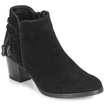 Sapatos Mulher Botins André MISTINGUETTE Preto