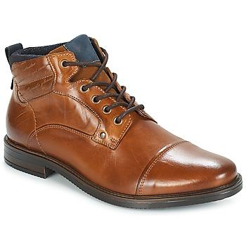 Sapatos Homem Botas baixas André VERON Castanho