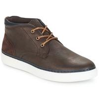 Sapatos Homem Sapatilhas de cano-alto André PAPIER Castanho