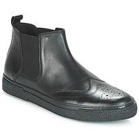 Sapatos Homem Botas baixas André OASIS Preto